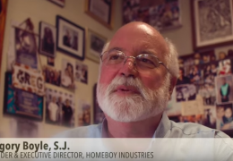 Dr. Brian Johnston speaks about White Memorial's involvement with Homeboy Industries